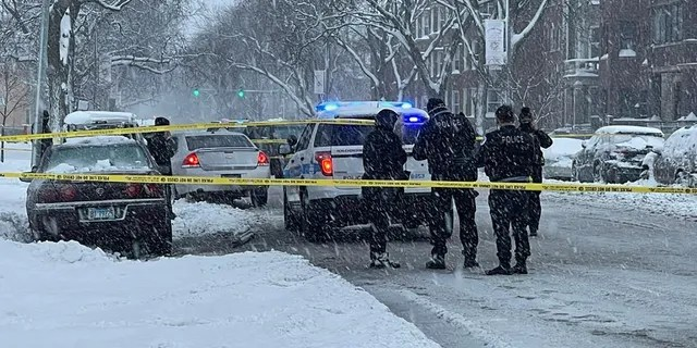 Authorities investigated the shooting in Chicago last month despite heavy snowfall in the city.