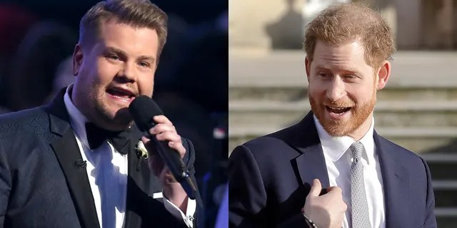 James Corden and Prince Harry have been friends for years.  The British TV host also attended the royal wedding of the Duke and Duchess of Sussex.