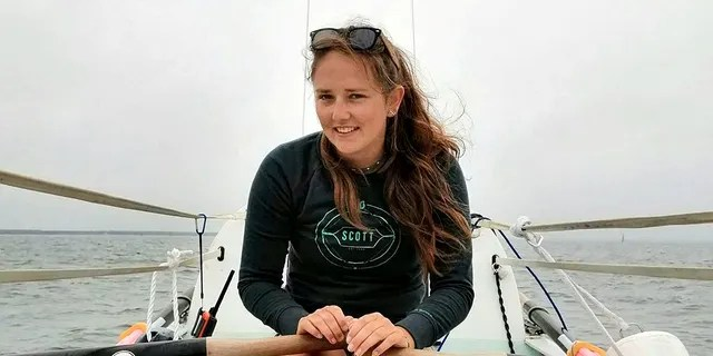 Jasmine Harrison of England became the youngest woman in a row in an ocean.