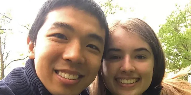 Kevin Jiang proposed to Zion Perry on Jan. 30 -- a year after they met at a church retreat in Connecticut.