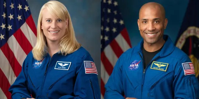Flight engineers Kate Rubins and Victor Glover will step out of the ISS for the spacewalk on Sunday.