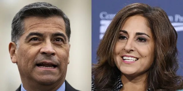 President Biden Xavier Becerra stands in the midst of a confirmed fight (Getty Image) by Neera Tandon
