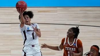 South Carolina drubs Texas 62-34 to reach Final Four