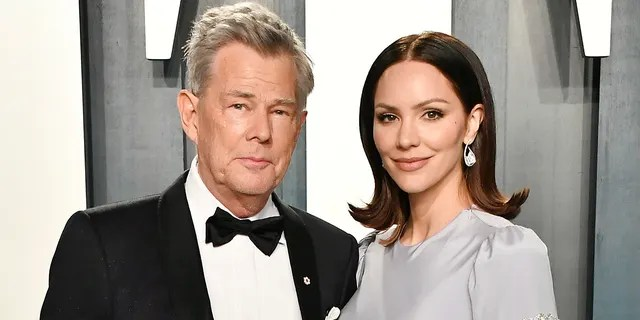 David Foster and Katharine McPhee first met in 2006 when McPhee was a contestant on the fifth season of 'American Idol' and Foster was a mentor on the singing competition series. (Photo by Frazer Harrison/Getty Images)