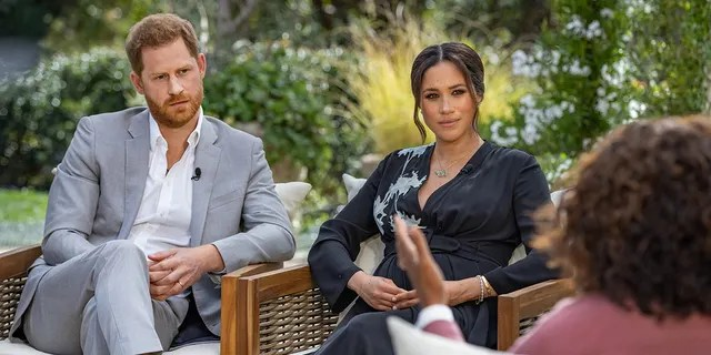 Pearce Morgan criticized Prince Harry and Meghan Markle's interview with Oprah Winfrey, saying she did not believe the claims she had made.  (Getty Images)