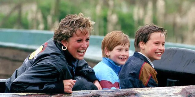 Princess Diana, seen here with her boys, passed away in 1997 at age 36.