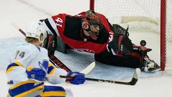Sabres top Devils 5-3, break 10-game winless streak on road