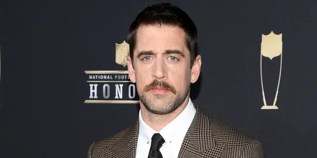 NFL player Aaron Rodgers said he'd like to take over 'Jeopardy!' hosting duties full-time. (Photo by Jason Kempin/Getty Images)