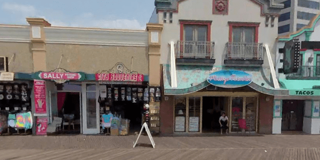 City Souvenirs, one of several businesses owned byMehmood Ansari's family in Atlantic City.