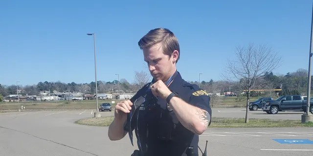 """""""It's just a normal part of our day,"""" Officer Adam Price said. """"That's something we're called to do often. That's actually the best part of it for me. It's not fighting crime. It's doing these little things in the community."""""""