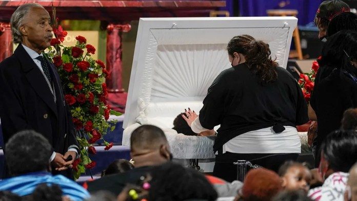 daunte wright black news funeral service