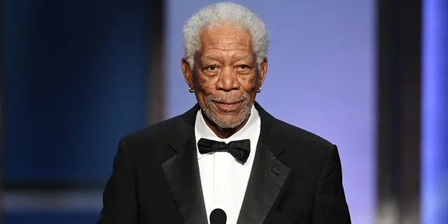 Morgan Freeman served in the Air Force. (Photo by Kevin Winter/Getty Images for WarnerMedia)
