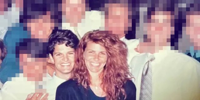 Here, a younger Jordan Kitaen poses next to his sister, Tawny Kitaen, at a fraternity party he held at UCLA in 1988.