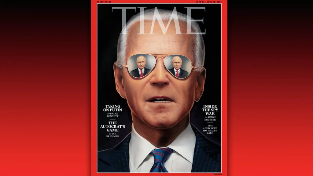 TIME cover blasted for over-the-top attempt to make Biden 'look cool' ahead of Putin meeting