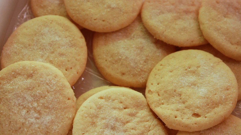 Sugar cookies were one of the easiest desserts to make in large batches