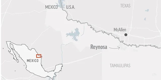 Law enforcement officials say gunmen aboard a number of vehicles have staged attacks in several neighborhoods in the Mexican border city of Reynosa. (AP)