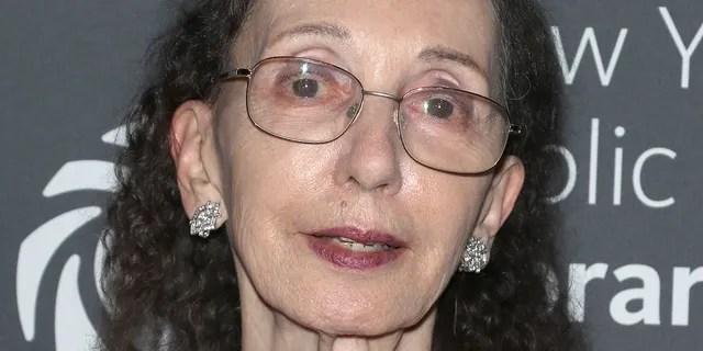 Writer Joyce Carol Oates is seen in New York City, Nov. 4, 2019.(Getty Images)
