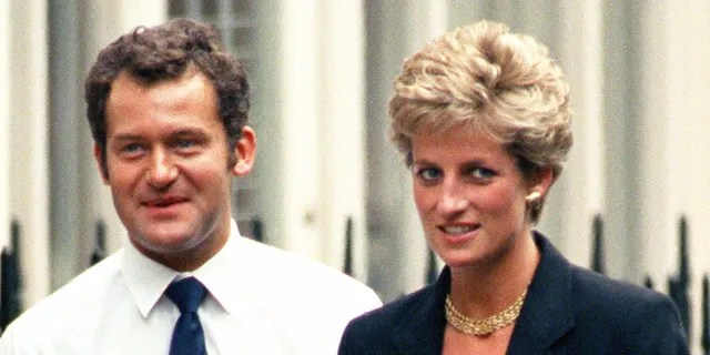 Paul Burrell served as a footman to Queen Elizabeth II before he began working for the Princess of Wales in 1987 until her passing.