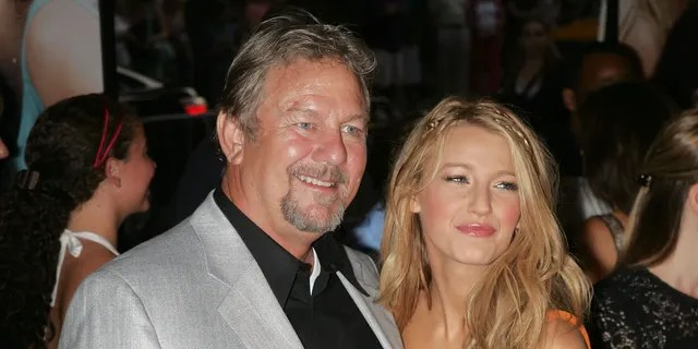 """Actors Ernie Lively and Blake Lively attend the premiere of """"The Sisterhood of the Traveling Pants 2"""" at the Ziegfeld Theatre on July 28, 2008 in New York City."""