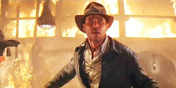 Os fãs de 'Indiana Jones' viram-no pela primeira vez na quinta edição do filme.
