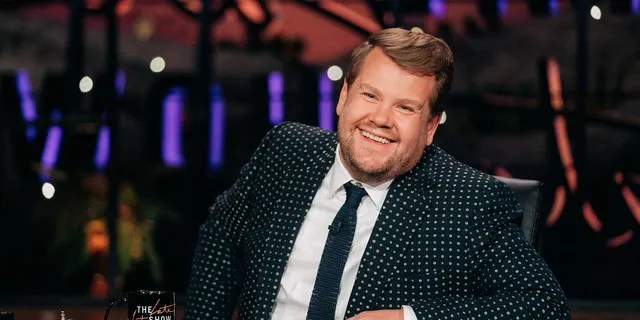 Corden claims a woman staked out his home for six days, only to leave when police got involved.