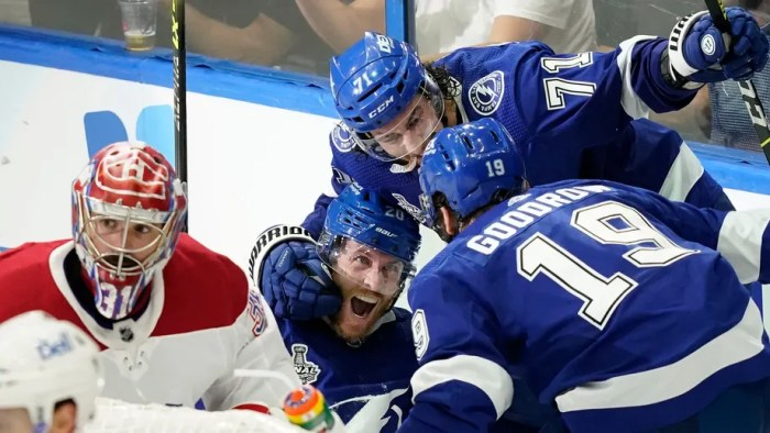 Lightning take another step toward Stanley Cup title with 3-1 win over the Habs