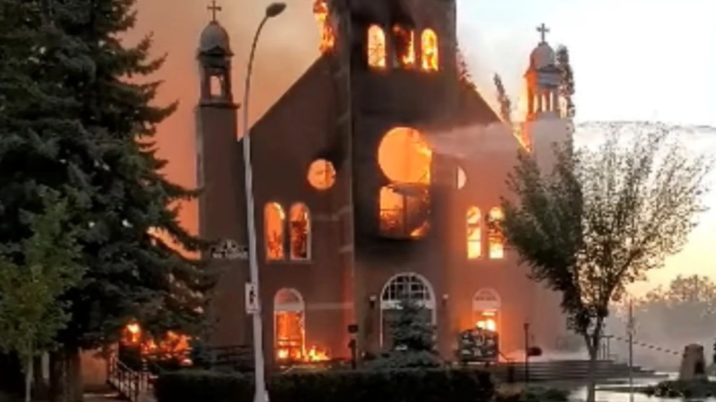 At least 9 Canadian churches set ablaze amid indigenous anger over residential schools