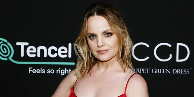 Mena Suvari said acting helped her escape from a painful past.