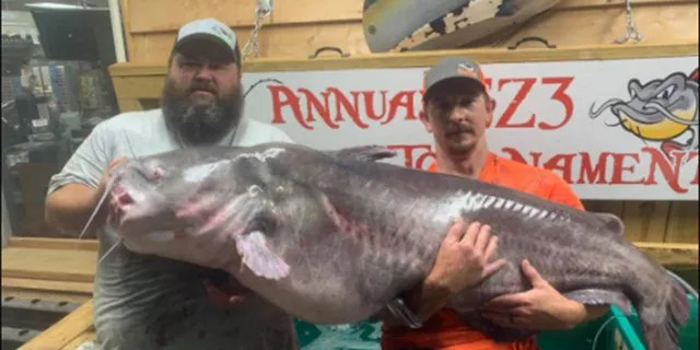 Rocky Baker spoke with Fox News about catching the fish, which is in the process of being certified as a new state record.