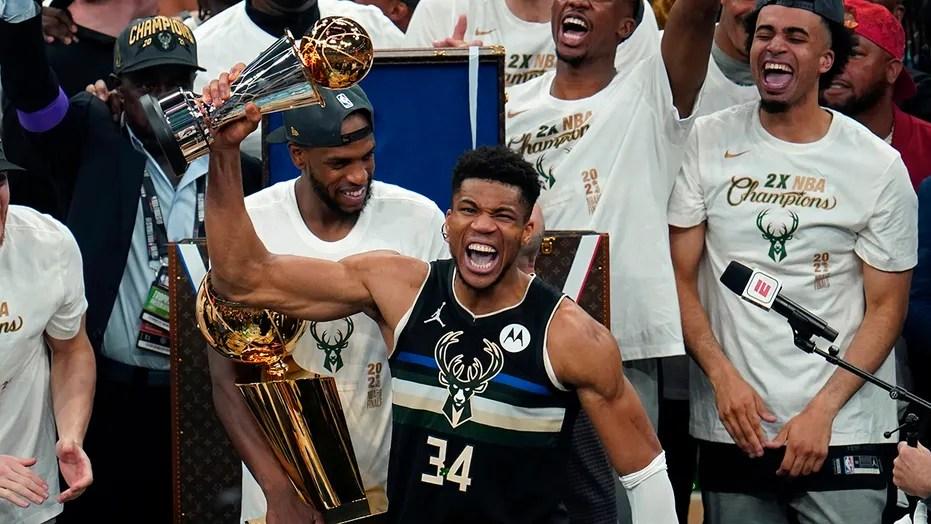 Giannis Antetokounmpo wins NBA Finals MVP, dubbed 'new king of the NBA' |  Fox News