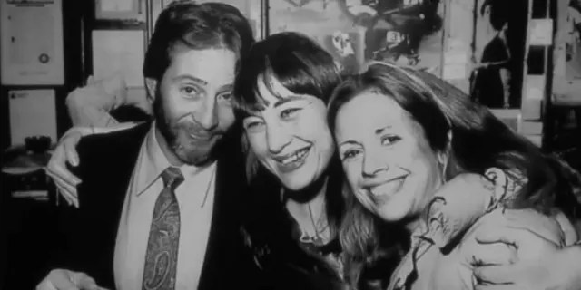 Prosecutors share photo of Robert Durst (left), Susan Berman (middle) and Kathie Durst (right) at Robert Durst's Aug. 11 murder trial. (Fox News)