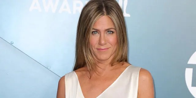 Jennifer Aniston had an awkward moment during a recent interview about filming 'The Morning Show.'