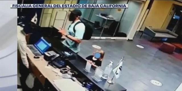 Coleman and the children were spotted at a Rosarito hotel over the weekend. (Fiscalia General Del Estadio de Baja California)