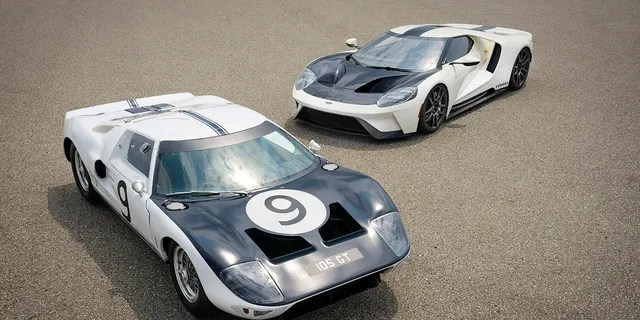 The GT '64 Prototype Heritage Edition pays tribute to the 1964 Ford GT Prototype shown.