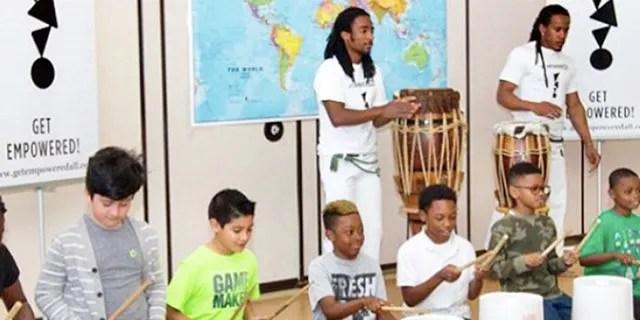 Children participate in a Get Empowered program.