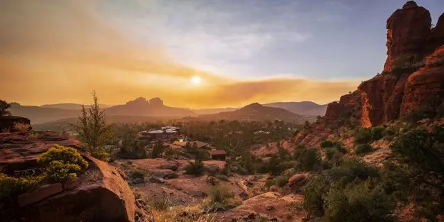 While Sedona, Ariz. Tied with Lake Tahoe with an overall score of 7.02 out of 10, KOALA placed the desert town at no. 4 on its best family-friendly destination list.