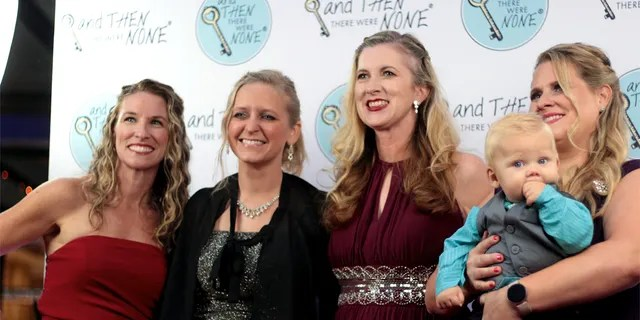 And then there were no employees at Quitters Ball: Christy Decker (case manager at Prolav Ministries), Heather Gardner (executive director at the Texas Coalition for Life), Katrina Rodriguez (northern site coordinator for the Central Texas Coalition for Life), Nicola Morrison. (Client manager at ATTWN and his son, Maverick).