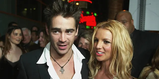 Colin Farrell and Britney Spears had a fling in 2003.
