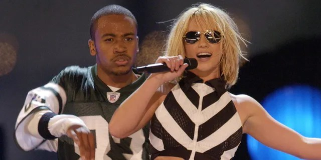 Columbus Short and Britney Spears.