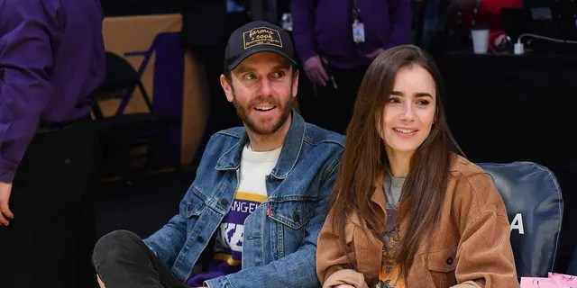Lily Collins shared a trio of gorgeous photos from her Sept. 4 wedding to director Charlie McDowell in Dutton Hot Springs, Colorado.