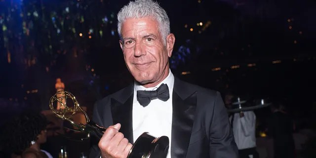 Chef/TV personality Anthony Bourdain attends the Creative Arts Emmy Awards Governors Ball at Microsoft Theater on September 10, 2016 in Los Angeles, California.