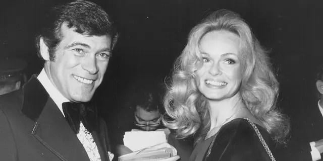 Actors and spouses Christopher George and Lynda Day George, circa 1974.