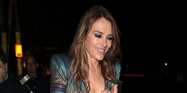 Elizabeth Hurley is known for modeling her swimsuit collection on Instagram.