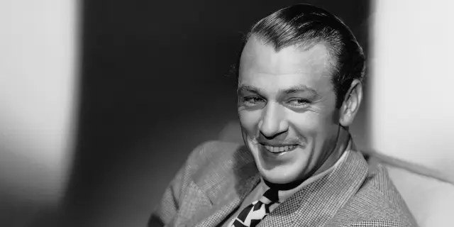 """American actor Gary Cooper won an Academy Award for Best Actor for his roles in """"Sergeant York"""" and """"High Noon."""""""