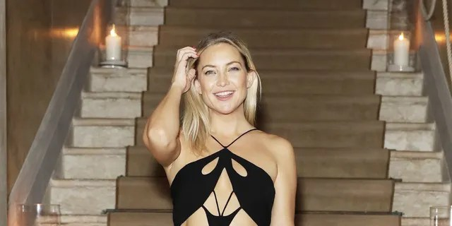Kate Hudson's racy LBD has been described as the 'ovary cutout.'