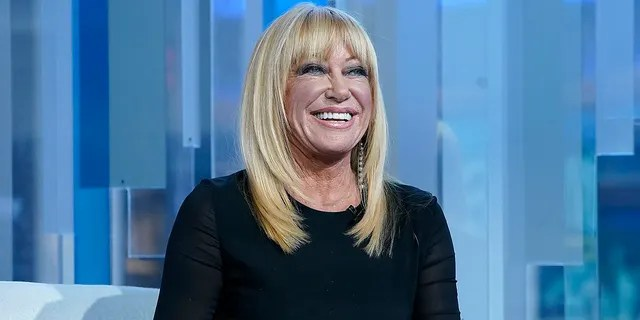 According to Suzanne Somers, having a positive outlook goes a long way.