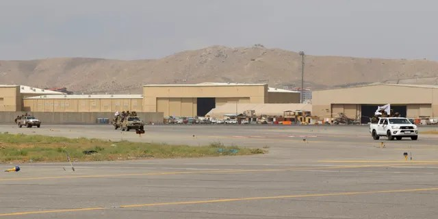 Taliban special force fighters arrive inside the Hamid Karzai International Airport after the U.S. military's withdrawal, in Kabul, Afghanistan, on Tuesday.
