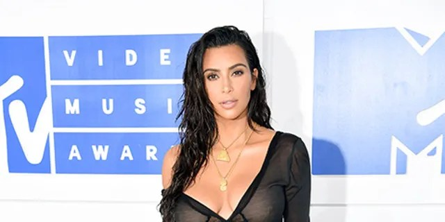 Kim Kardashian at the 2016 MTV Movie Awards.