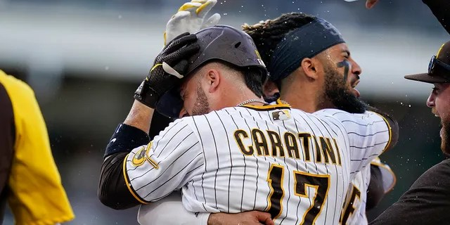 The Padres were wrapping up their home schedule with the Braves last weekend.