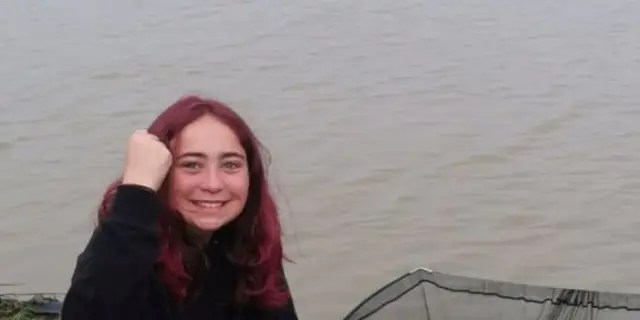 Hannah Truscott, 15, went fishing with her father Paul, 51, in Essex County, England. Her father told South West News Service she initially doubted her luck on Friday the 13th due to the superstition around the date.
